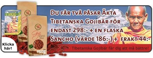 Picture of PAKET 2 påsar Gojibär och 1 flaska Sancho