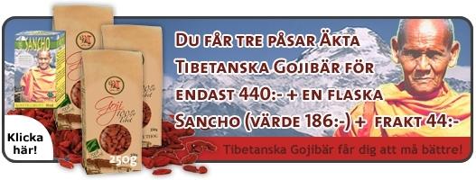 Picture of PAKET 3 påsar Gojibär och 1 flaska Sancho