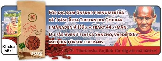 Picture of Prenumeration : 1 paket Gojibär i månaden